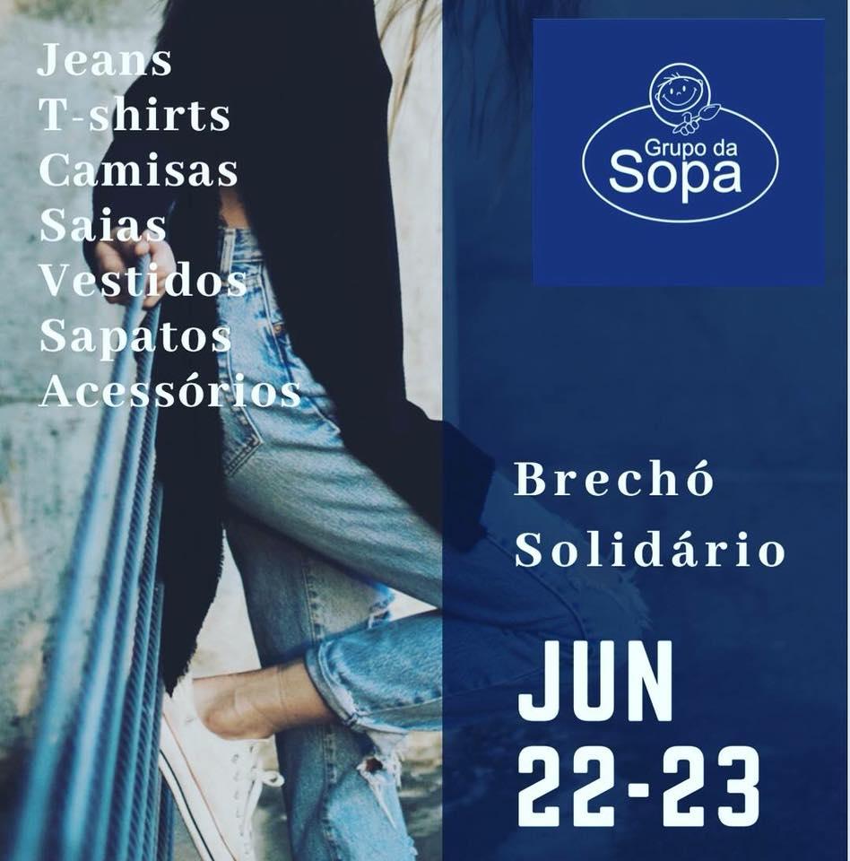 1º Brechó Solidário do Grupo da Sopa foi um sucesso